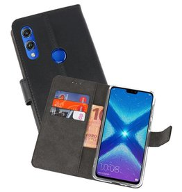 Wallet Cases Hoesje Huawei Honor 8X Zwart