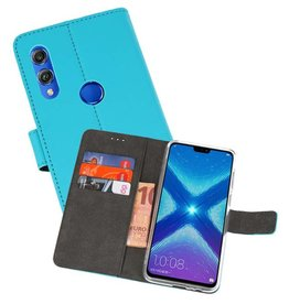 Wallet Cases Hoesje Huawei Honor 8X Blauw