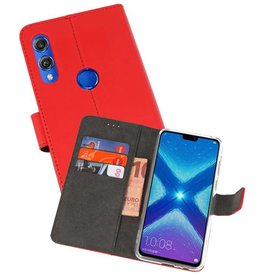 Wallet Cases Hoesje Huawei Honor 8X Rood
