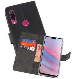 Wallet Cases Hoesje Huawei Y9 2019 Zwart