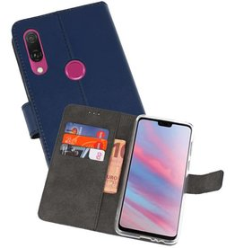 Wallet Cases Hoesje Huawei Y9 2019 Navy