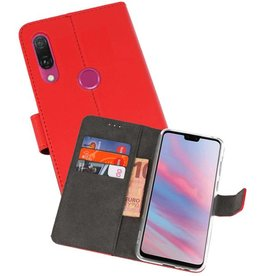 Wallet Cases Hoesje Huawei Y9 2019 Rood