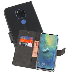Wallet Cases Hoesje Huawei Mate 20 X Zwart