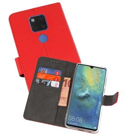 Wallet Cases Hoesje Huawei Mate 20 X Rood
