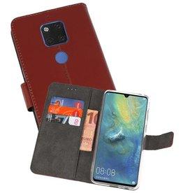 Wallet Cases Hoesje Huawei Mate 20 X Bruin