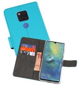 Wallet Cases Hoesje Huawei Mate 20 X Blauw