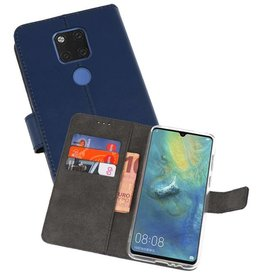 Wallet Cases Hoesje Huawei Mate 20 X Navy