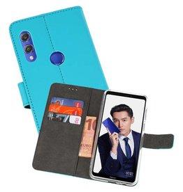 Wallet Cases Hoesje Huawei Note 10 Blauw