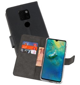 Wallet Cases Hoesje Huawei Mate 20 Zwart