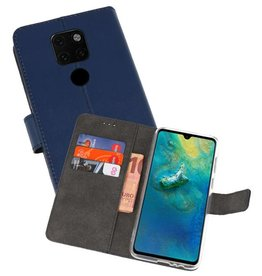 Wallet Cases Hoesje Huawei Mate 20 Navy