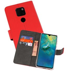 Wallet Cases Hoesje Huawei Mate 20 Rood