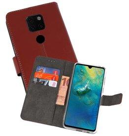 Wallet Cases Hoesje Huawei Mate 20 Bruin