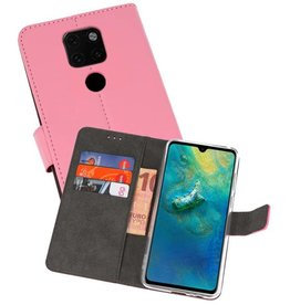 Wallet Cases Hoesje Huawei Mate 20 Roze