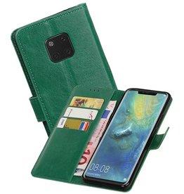 Zakelijke Bookstyle Hoesje Huawei Mate 20 Pro Groen