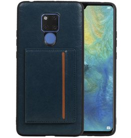 Staand Back Cover 1 Pasjes Huawei Mate 20 X Navy
