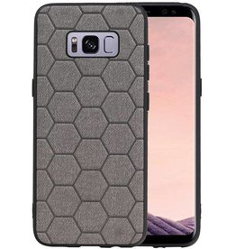 Hexagon Hard Case Samsung Galaxy S8 Grijs