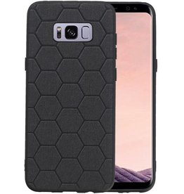 Hexagon Hard Case Samsung Galaxy S8 Plus Zwart