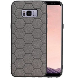 Hexagon Hard Case Samsung Galaxy S8 Plus Grijs