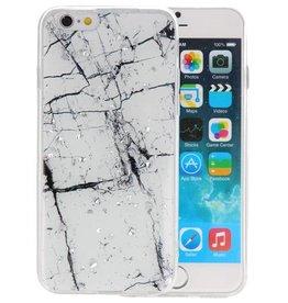 Marble Wit Print Hardcase iPhone 6