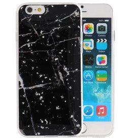 Marble Zwart Print Hardcase iPhone 6