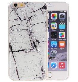 Marble Wit Print Hardcase iPhone 6 Plus