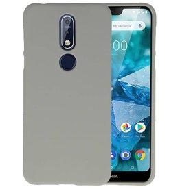 Grijs Color TPU Hoesje Nokia 7.1
