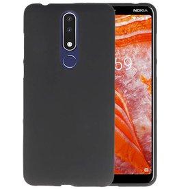 Zwart TPU Hoesje Nokia 3.1 Plus