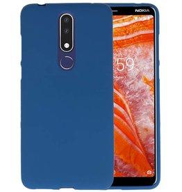 BackCover Hoesje Color Telefoonhoesje Nokia 3.1 Plus - Navy