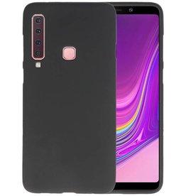 BackCover Hoesje Color Telefoonhoesje Samsung Galaxy A9 2018 - Zwart