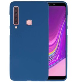 Navy Color TPU Hoesje Samsung Galaxy A9 2018