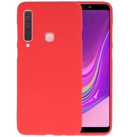 BackCover Hoesje Color Telefoonhoesje Samsung Galaxy A9 2018 - Rood