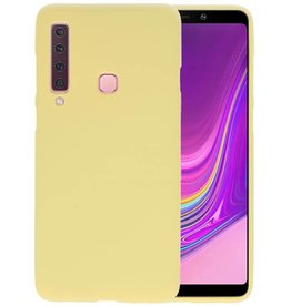 BackCover Hoesje Color Telefoonhoesje Samsung Galaxy A9 2018 - Geel