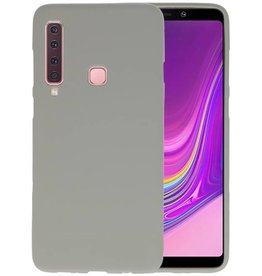 BackCover Hoesje Color Telefoonhoesje Samsung Galaxy A9 2018 - Grijs