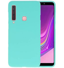 Turquoise Color TPU Hoesje Samsung Galaxy A9 2018