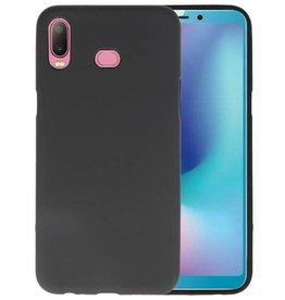 Zwart Color TPU Hoesje Samsung Galaxy A6s
