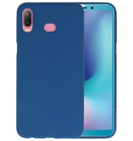 Navy Color TPU Hoesje Samsung Galaxy A6s