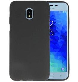 BackCover Hoesje Color Telefoonhoesje Samsung Galaxy J3 2018 - Zwart