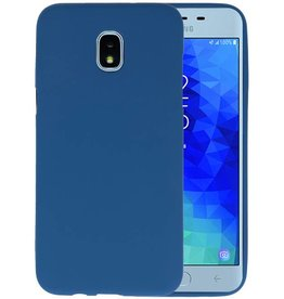 Navy Color TPU Hoesje Samsung Galaxy J3 2018