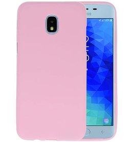 Roze Color TPU Hoesje Samsung Galaxy J3 2018