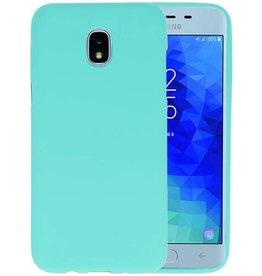 BackCover Hoesje Color Telefoonhoesje Samsung Galaxy J3 2018 - Turquoise
