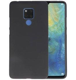 Zwart Color TPU Hoesje Huawei Mate 20 X