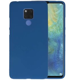 Navy Color TPU Hoesje Huawei Mate 20 X