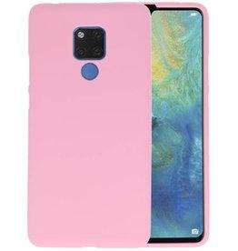 Roze Color TPU Hoesje Huawei Mate 20 X