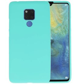 Turquoise Color TPU Hoesje Huawei Mate 20 X