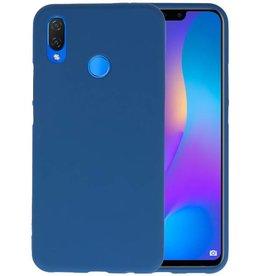 BackCover Hoesje Color Telefoonhoesje Huawei P Smart Plus - Navy