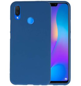 Navy Color TPU Hoesje Huawei P Smart Plus
