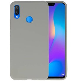 Grijs Color TPU Hoesje Huawei P Smart Plus