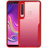 Rood Focus Transparant Hard Cases Samsung Galaxy A9 2018