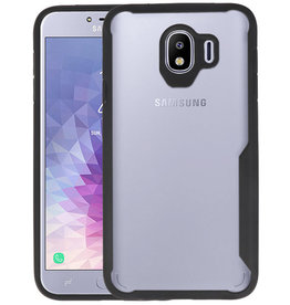 Zwart Focus Transparant Hard Cases Samsung Galaxy J4
