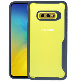 Navy Focus Transparant Hard Cases Samsung Galaxy S10e